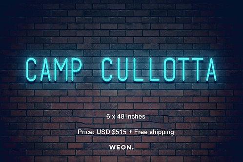 Custom Neon Sign ( Mario Cullotta )