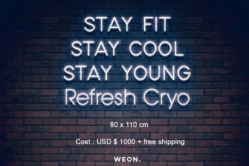 Custom Neon Sign ( CRYO Refresh )