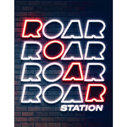 Custom Neon Sign (ROAR STATION)