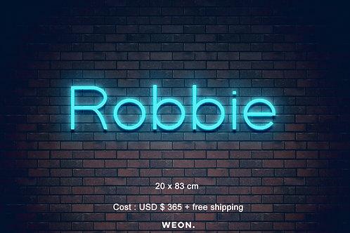 Custom Neon Sign (  Robert Williams )