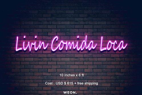 Custom Neon Sign (  Beatriz Torres )