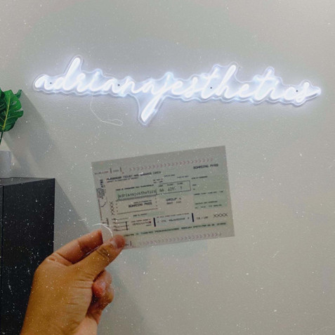 Weon - custom neon sign