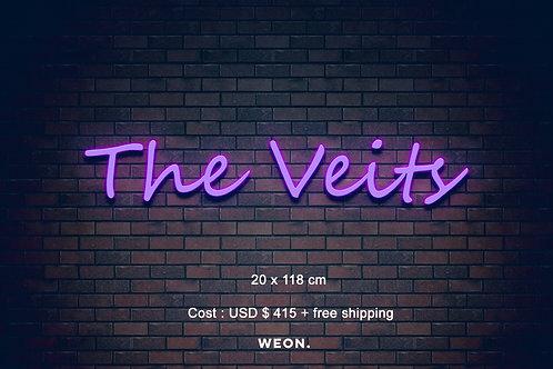 Custom Neon Sign ( Vanessa Casanova )
