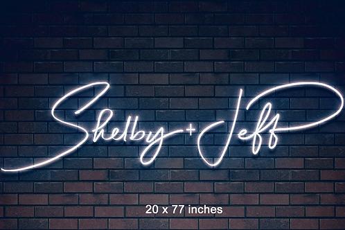 Custom Neon Sign ( Shelby Haugen )