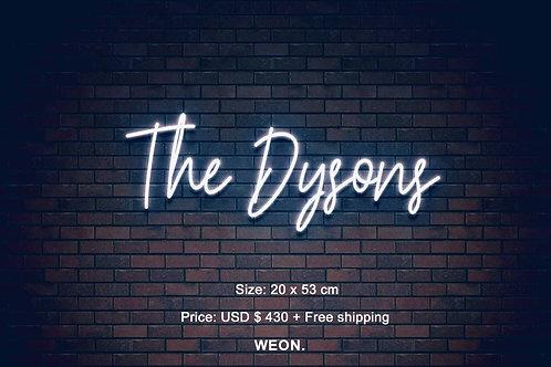Custom Neon Sign (  dadyson11 )