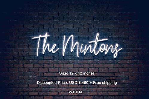 Custom Neon Sign (  a.paccione )