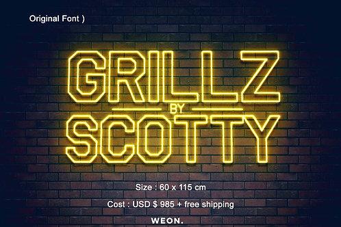 Custom Neon Sign ( Scott Dawg )