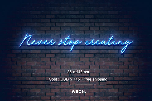 Custom Neon Sign ( Lauren Joe )