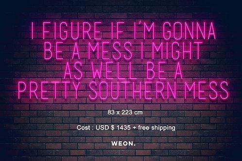 Custom Neon Sign ( Nichole Morrell )