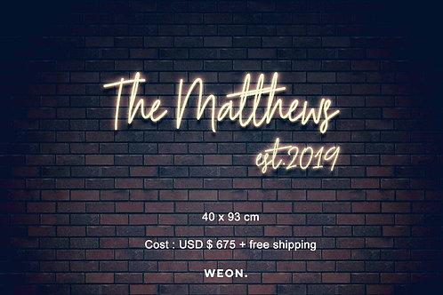 Custom Neon Sign (  Rami Shaffer )