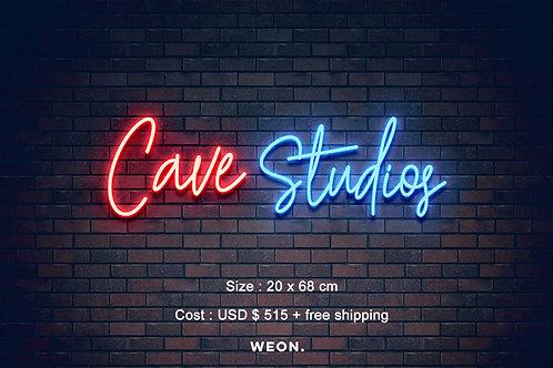 Custom Neon Sign ( niko rodriguez   )
