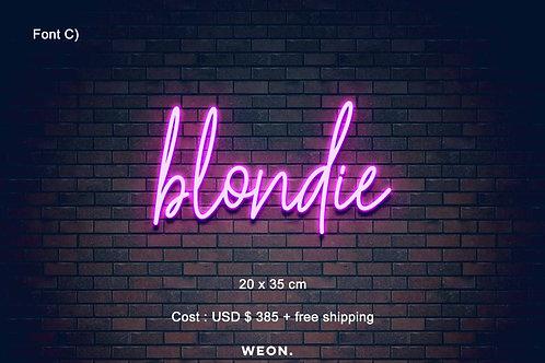 Custom Neon Sign ( Skylar Hobbs )