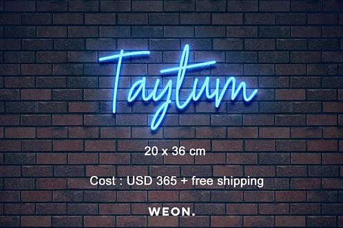 Custom Neon Sign ( Toni Varisco )