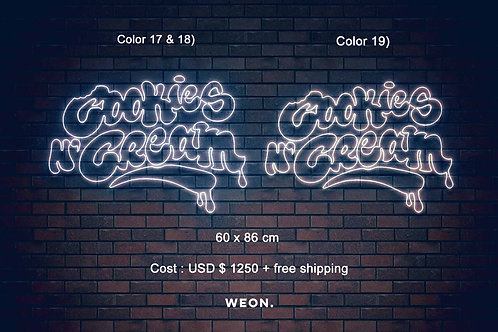 Custom Neon Sign ( Nick Staib  )