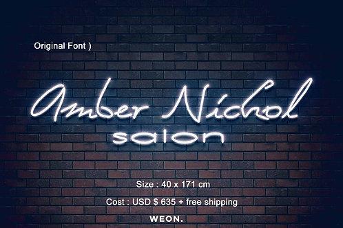 Custom Neon Sign ( ambuler_78@yahoo.com )