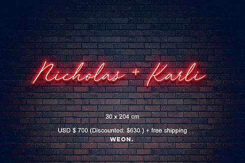 Custom Neon Sign ( Kathy Kusler )