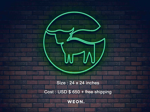 Custom Neon Sign ( Sidney Sauter )