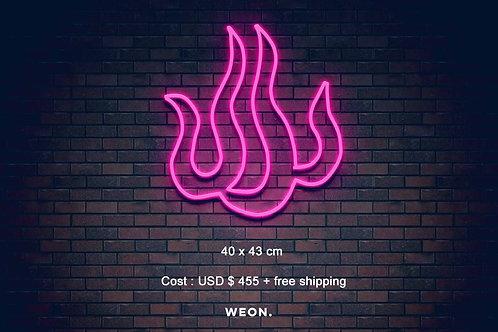 Custom Neon Sign ( Caroline Wallis  )