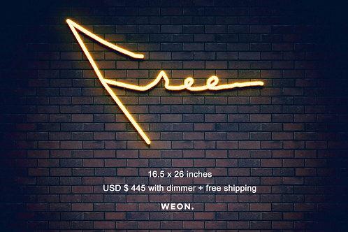 Custom Neon Sign ( free )