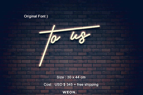 Custom Neon Sign ( Stephanie Fuentes )