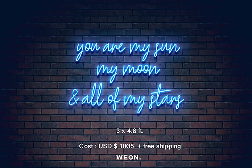 Custom Neon Sign ( Abby Wempe )