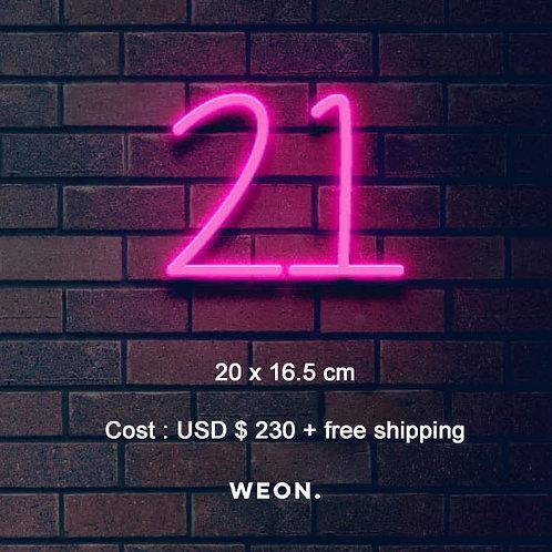 Custom Neon Sign ( 21 )