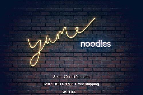 Custom Neon Sign ( Chun Lam )