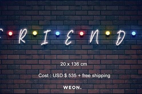 Custom Neon Sign ( Foster, Hayley )