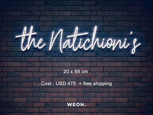 Custom Neon Sign (  Alexa Redish )