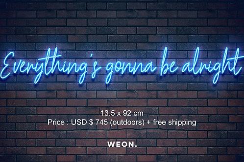 Custom Neon Sign ( alilunsteady )