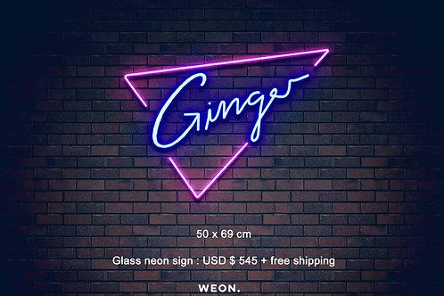 Custom Neon Sign ( Belle Minshall )