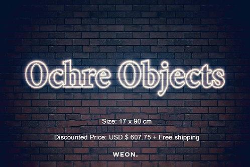 Custom Neon Sign ( Ochre Objects )