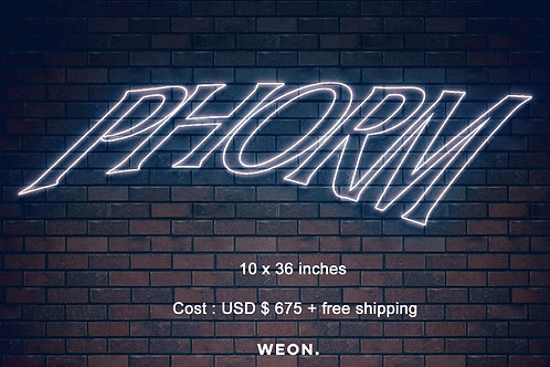 Custom Neon Sign ( Phorm Studios )