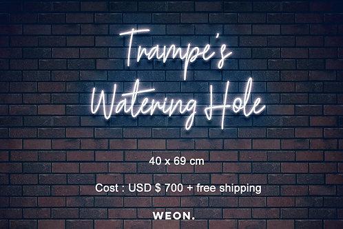 Custom Neon Sign ( Drew Trampe )