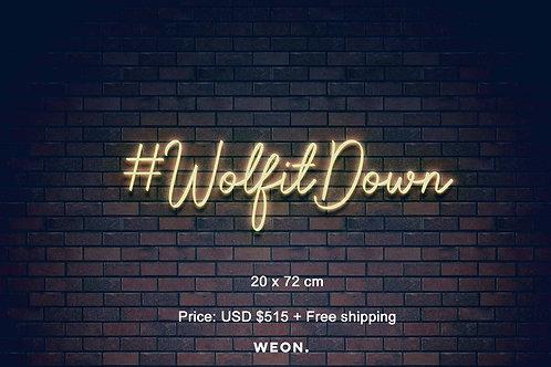 Custom Neon Sign ( Tyler Florence )