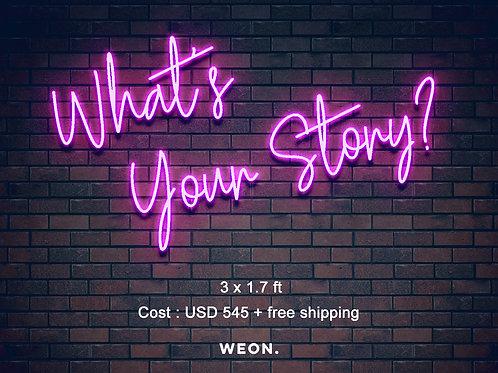 Custom Neon Sign ( Danielle Fenley )