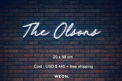 Custom Neon Sign ( Lucas Olson )