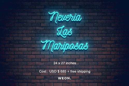 Custom Neon Sign ( Adriana Angulo  )
