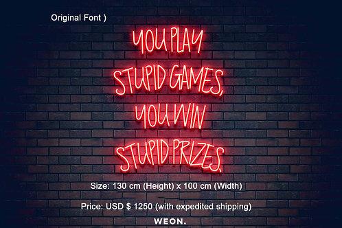 Custom Neon Sign ( Prahal Pradeep )