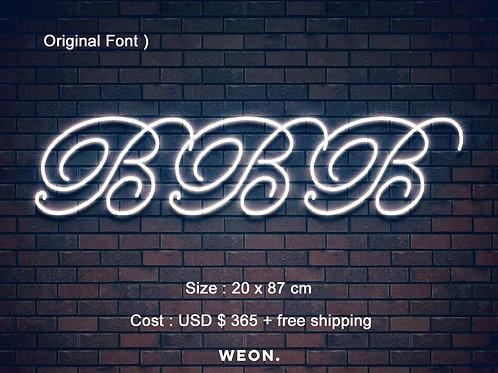 Custom Neon Sign ( Brooke Zecca )