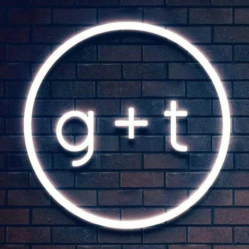 Custom Neon Sign (g+t)