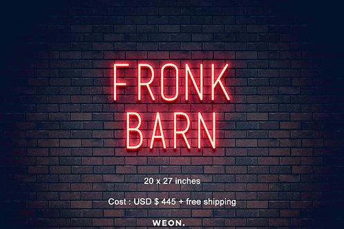 Custom Neon Sign ( Becca Fronk  )