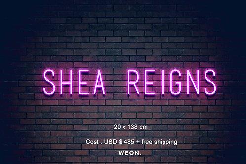 Custom Neon Sign ( Breonna Takaria )