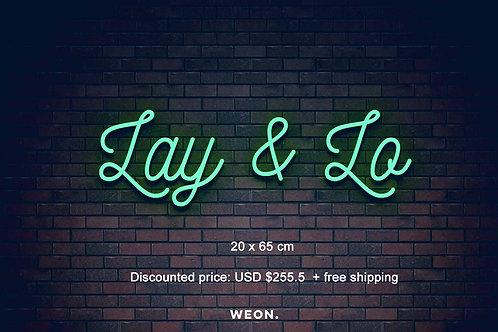 Custom Neon Sign ( Laura Agard - Green )