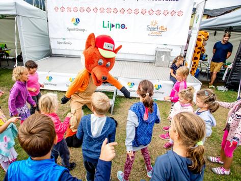 Lipno Sport fest: Parkour, spikeball, diskotéka s lišákem Foxem