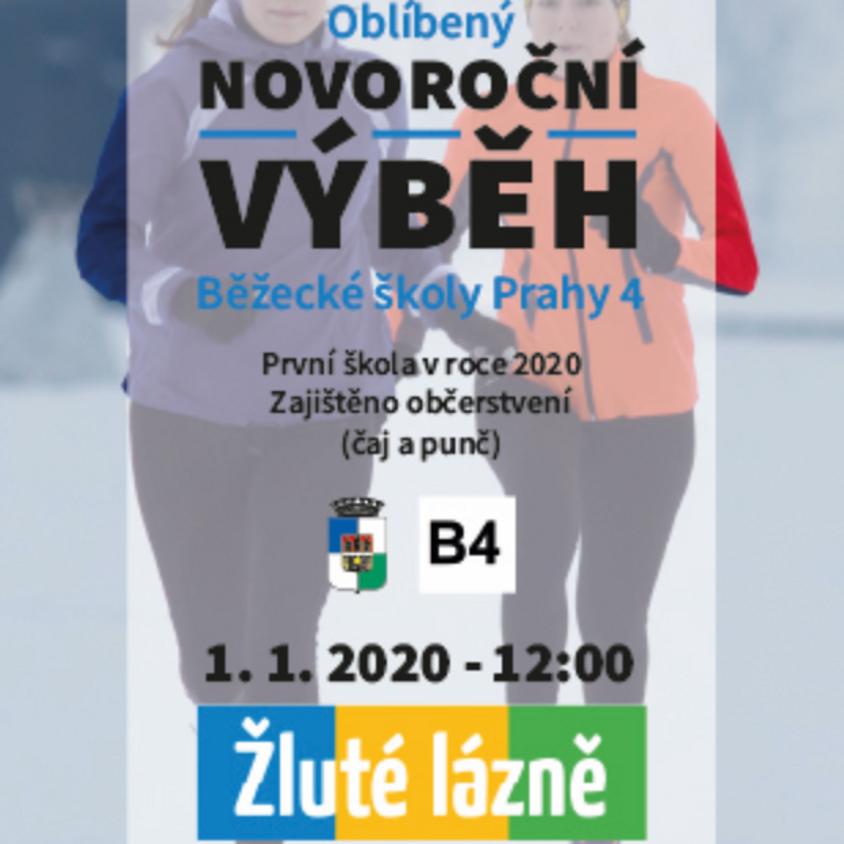 Novoroční výběh Běžecké školy Prahy 4