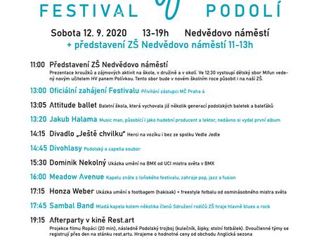 Festival Podolí - 12.9.2020