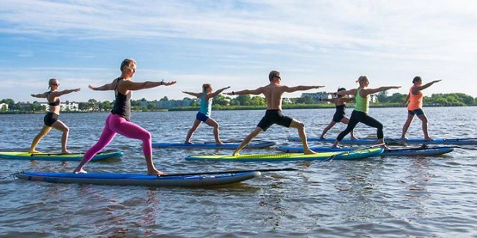 S.U.P. jóga – jóga s paddleboardy