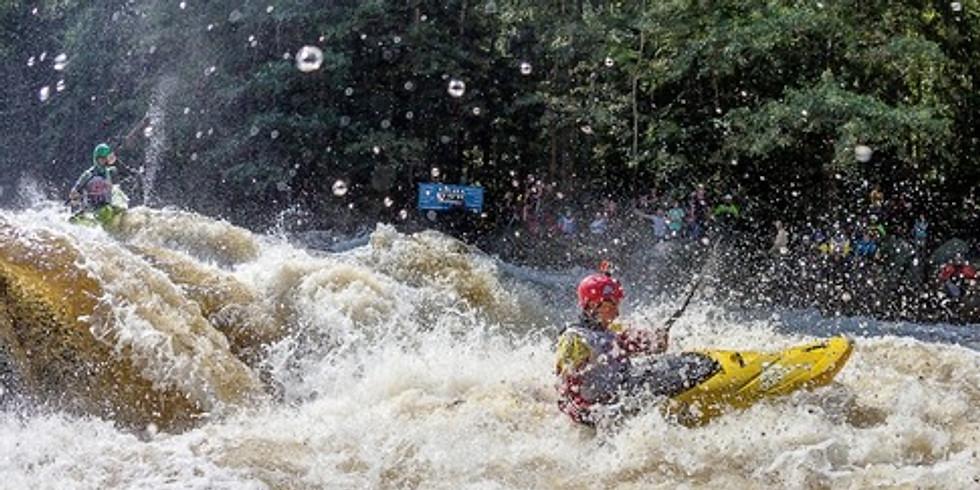 Extrémní kayaking Devils Extreme Race - Mistrovství Evropy Open