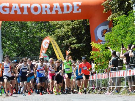 Fejfar vyhrál žhavou bitvu horských běžců na petřínském Trailu Praha